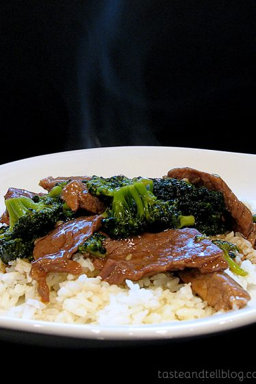 Beef and Broccoli   Taste and Tell