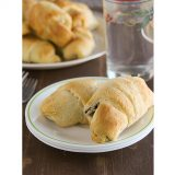 Chicken Stuffed Crescents | www.tasteandtellblog.com