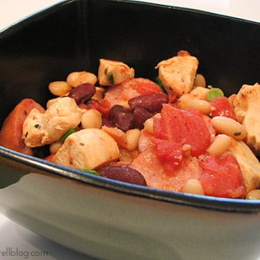 New England Baked Bean Stew | www.tasteandtellblog.com