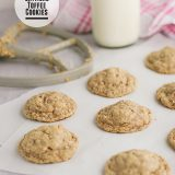 Oatmeal Toffee Cookies from www.tasteandtellblog.com
