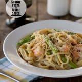 Shrimp Pasta in White Sauce | Taste and Tell