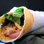 BBQ Chicken Wraps | www.tasteandtellblog.com