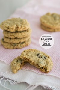 Basketball Team Cookies on Taste and Tell