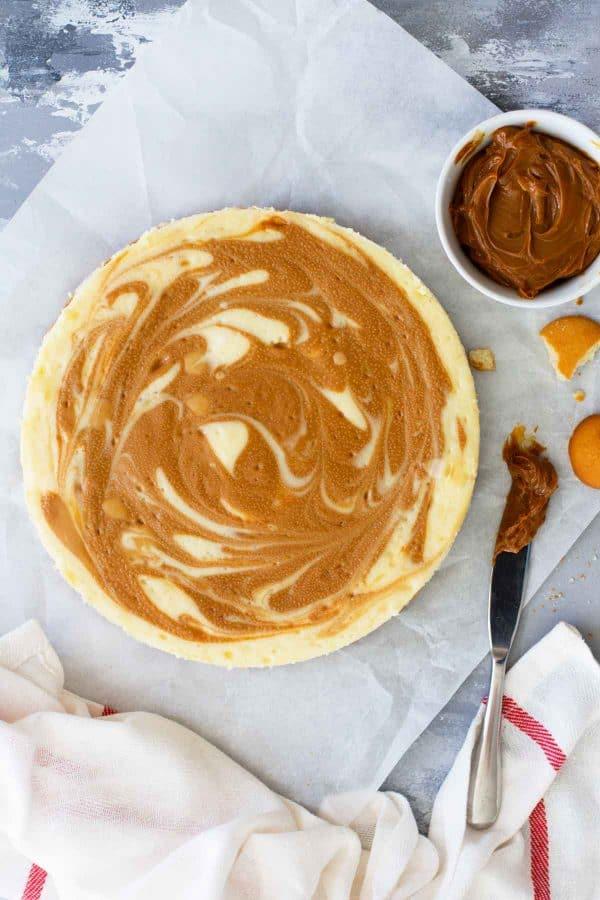 How to make Dulce de Leche Cheesecake