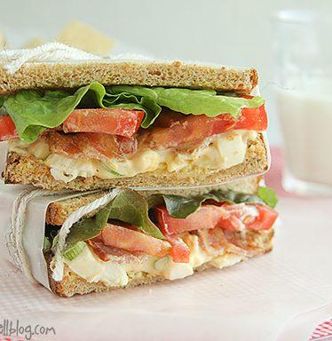 Egg Salad BLTs | www.tasteandtellblog.com