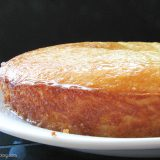 French Style Yogurt Cake with Lemon