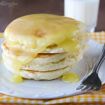 Pancakes with Lemon Sauce | www.tasteandtellblog.com