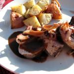Burgundy Pork Tenderloin | www.tasteandtellblog.com