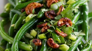 4fec50b7d Fresh Green Bean Salad with Asian Dressing - Taste and Tell