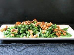 Fresh Green Bean Salad with Asian Dressing   www.tasteandtellblog.com