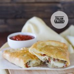 Italian Calzones on Taste and Tell