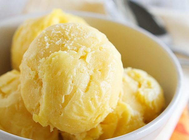 Mango Sorbet Recipe on Taste and Tell