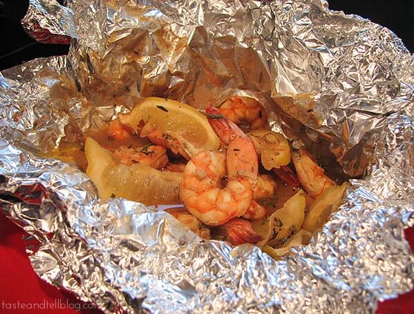 New Orleans Style Shrimp | www.tasteandtellblog.com