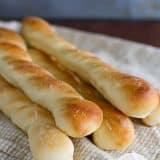 Parmesan Breadsticks | www.tasteandtellblog.com