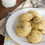 Banana Chocolate Chip Cookies | www.tasteandtellblog.com #recipe #cookie #banana