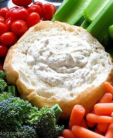Dill Dip | www.tasteandtellblog.com