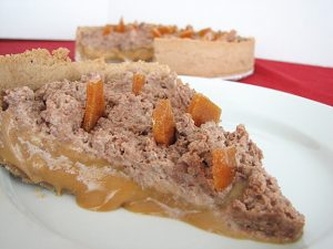Milk Chocolate and Caramel Tart | www.tasteandtellblog.com