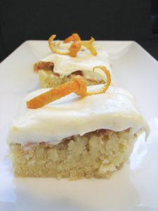 Orange Blondies | www.tasteandtellblog.com