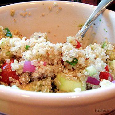 Quinoa Salad | www.tasteandtellblog.com