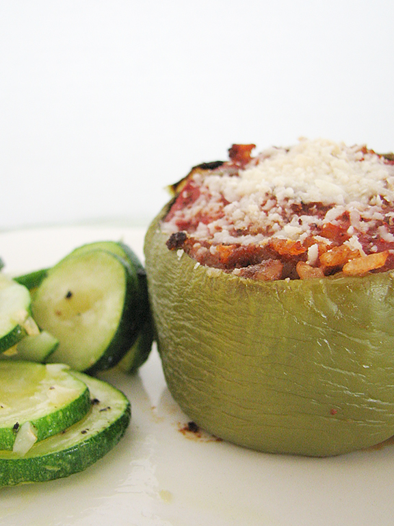 Stuffed Bell Peppers | www.tasteandtellblog.com