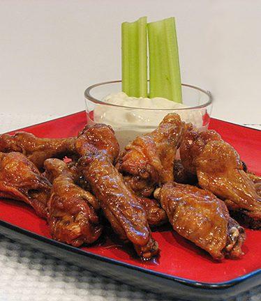 Sweet and Spicy Wings | www.tasteandtellblog.com