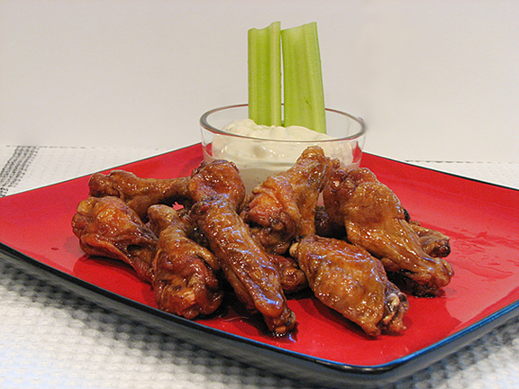 Sweet and Spicy Wings | www.tasteandtellblog.com