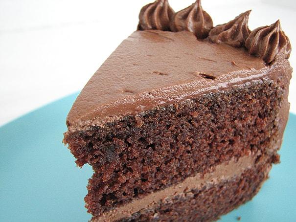 Chocolate Chocolate Cake | www.tasteandtellblog.com