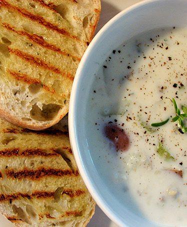 Clam Chowder | www.tasteandtellblog.com