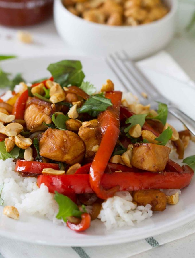Spicy Thai Chicken
