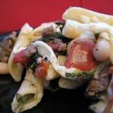 Tuscan Pasta with Sausage | www.tasteandtellblog.com