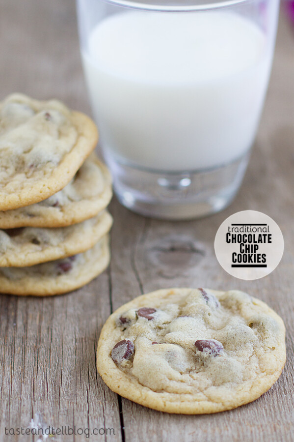 Traditional Chocolate Chip Cookies on Taste and Tell
