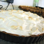 French Lemon Cream Tart with Meringue