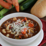 Minestrone | www.tasteandtellblog.com #recipe #soup #vegetables