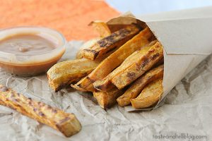 Oven Baked Sweet Potatoes   www.tasteandtellblog.com