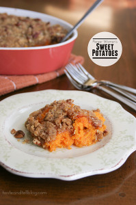 Pioneer Woman's Sweet Potatoes | www.tasteandtellblog.com