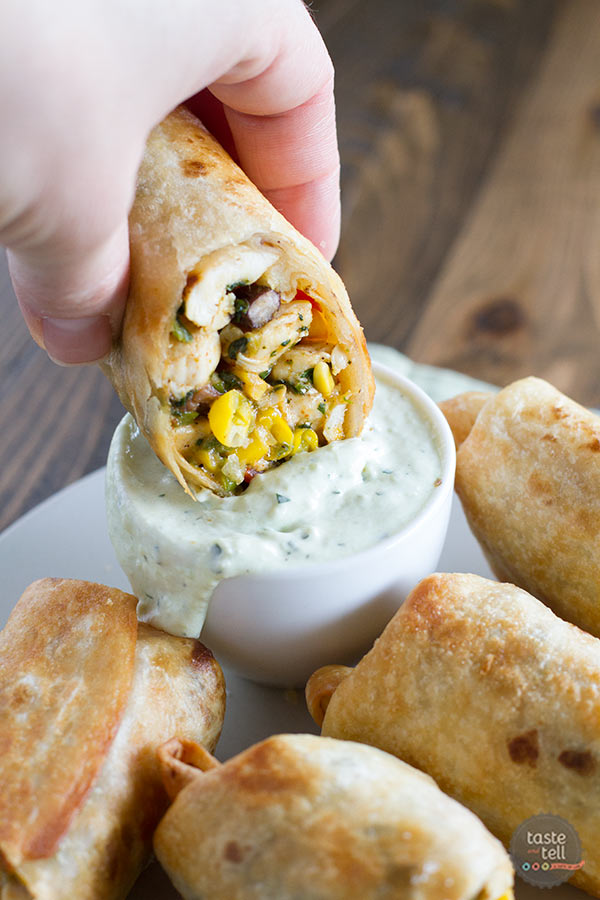 These Southwestern Egg Rolls Are An Appetizer That Will Become A Fast Favorite
