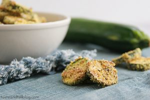 Zucchini Coins | Taste and Tell