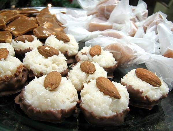 Chewy Coconut Centers | www.tasteandtellblog.com
