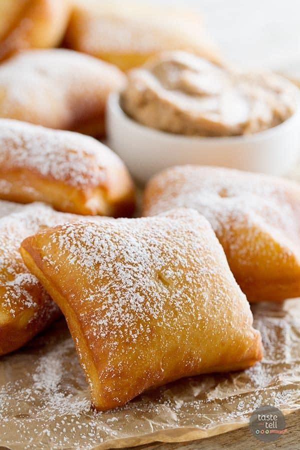 German Scones Recipe with Cinnamon Honey Butter