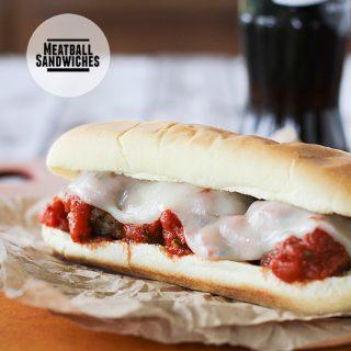 Meatball Sandwiches on Taste and Tell