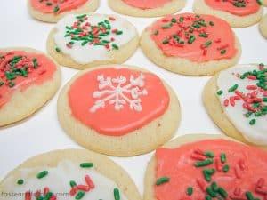 Snowflake Cookies | www.tasteandtellblog.com