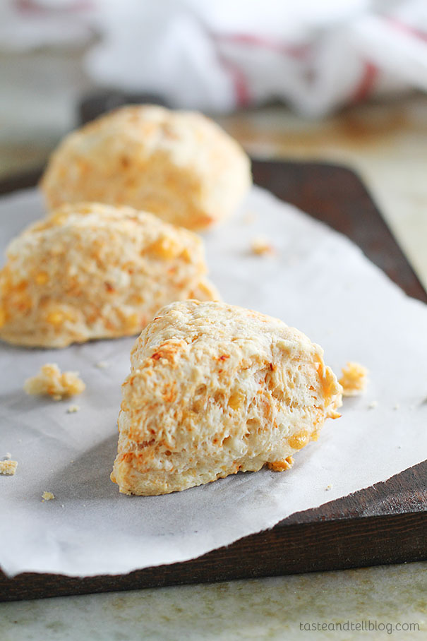 Recipe for Chipotle Cheddar Scones