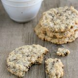 Chocolate Oatmeal Coconut Cookies | www.tasteandtellblog.com