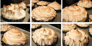 Individual Lemon Meringue Pies by www.tasteandtellblog.com