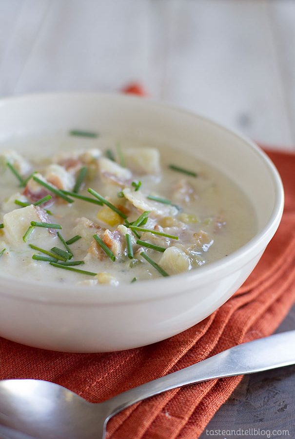 Vegetable and Clam Chowder