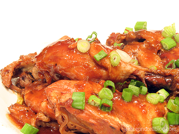 Chicken Adobo on Taste and Tell