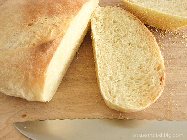 Julia Child's French Bread from www.tasteandtellblog.com