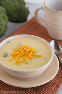 Broccoli Cheese Soup | Taste and Tell