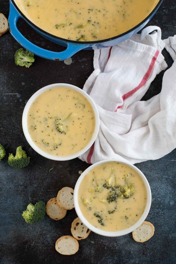 Recipe for Broccoli Cheese Soup