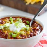 Flatlander Chili Recipe - filled with lots of meat and beans.